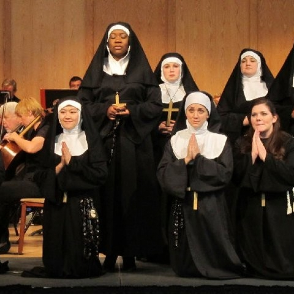 Alexis as La Badessa in SASO, SUOR ANGELICA, 2011