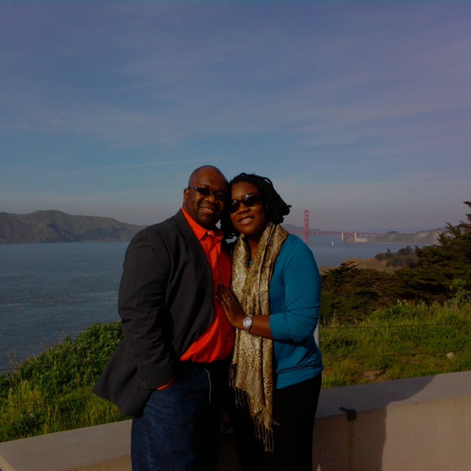 Earl & Alexis and the Golden Gate Bridge, San Francisco
