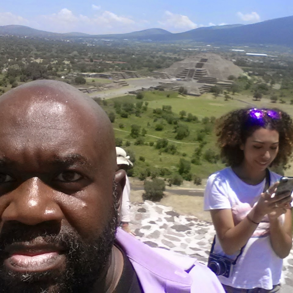 Earl & Alexis at Mexico City Pyramids 5