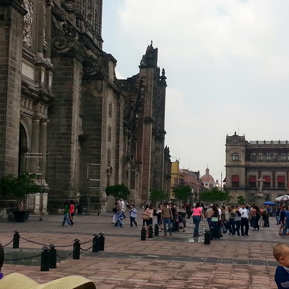 Mexico City Street Scene 1